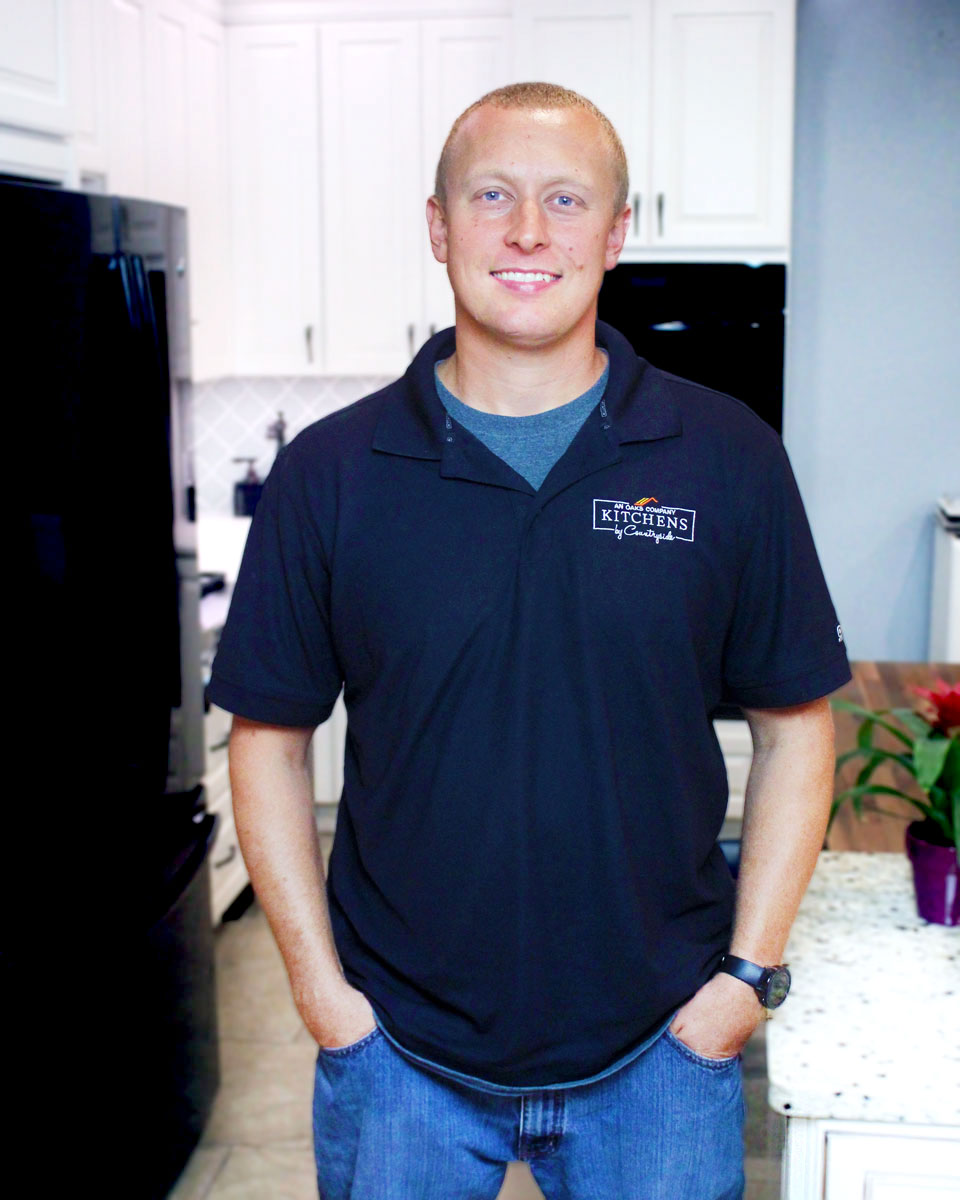 josh kay, project manager, kitchens by countryside, rochester, ny